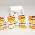 アルファ米(炊きたてご飯を急速乾燥)常温で5年の長期保存が可能。