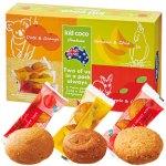 食物繊維が豊富な外皮(ふすま)や全粒穀物と果物をたっぷり使った自然派クッキー