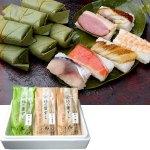 魚、山の恵みである柿の葉、地の恵みである米が奈良柿の葉ずし