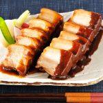 【豚肉の和醤煮込み】豚ばら肉をすっきりとした味わい、ひと味違った煮豚に