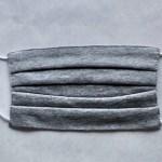 クラボウが開発した抗菌・抗ウイルス機能繊維加工技術が生んだマスク。