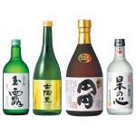 超音波熟成や、緑茶の焼酎など、おすすめ商品をお試しいただける飲み比べセット
