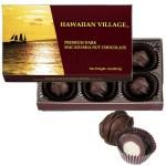 ハワイアンビレッジ マカダミアナッツダークチョコ6粒入12箱  税込11,232円