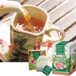 はすの花のほんのり甘い香りが楽しめる、さっぱりとした飲み口のお茶です。