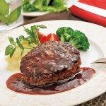 2020お中元 5,000円台  ラベットラダオチアイ牛肉100%のハンバーグと黒トリュフソース