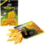 フレッシュなマンゴーをギュッと凝縮したドライフルーツ。100g×12袋