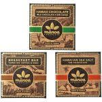 良質なカカオ豆で作る本物のチョコレート◎マノアチョコ ミニ3種9袋セット