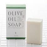 オリーブ油のヌルヌル感(ぬめり)で洗うことができます。高濃度な石けん