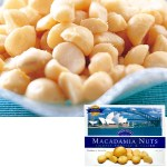 軽い塩味と歯ごたえが絶妙のマカダミアナッツ。おつまみやおやつに人気です。