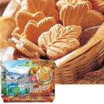 カエデ形のクッキー。カナダの大自然をデザインしたパッケージも魅力です。