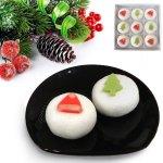 クリスマスをたまには和菓子で祝ってみませんか?こちらの商品は期間限定販売