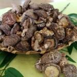 北海道産の厳選した真昆布と、大分の原木栽培どんこ、さらに上質な焼き海苔