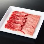 脂の甘みや和牛独特の風味 米沢牛モモ、肩 焼肉用2〜3人前(500g)