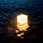太陽光で8時間充電すれば72時間使用でき、約500回繰り返し使えるライト。