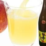 青森県産りんごのみで製造したストレート!りんごジュース 1升瓶 6本セット