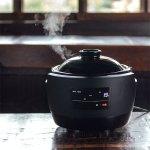 伊賀焼の特性で、土鍋とごはんの間に水分膜ができるので使用後のお手入れも簡単
