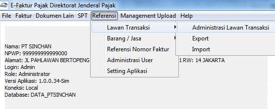 Import Transaksi ACCURATE ke E-Faktur 28