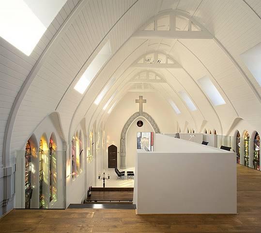 Gereja Disulap Menjadi Rumah, Belanda.
