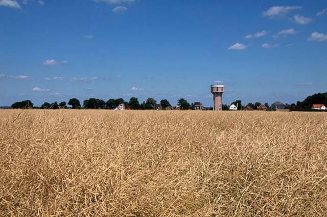 Tower Air Tua Menjadi Rumah Modern, Belgia