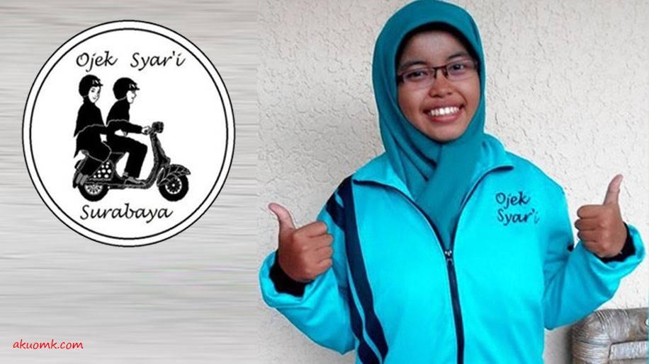 Mahasiswi Kreatif Ojek Syar'i