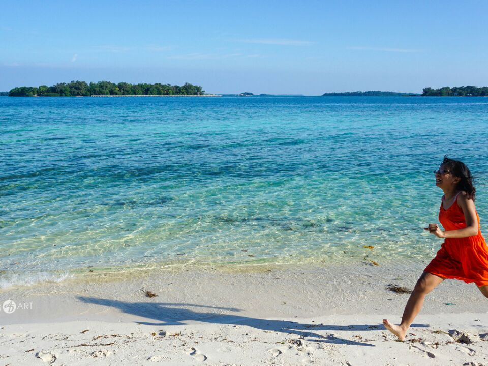Pulau Perak, Hopping Island Pulau Harapan