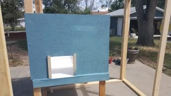 Framing the door slides