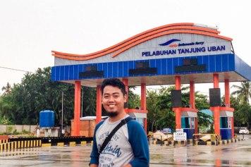 Sampai di Pelabuhan Tanjung Uban