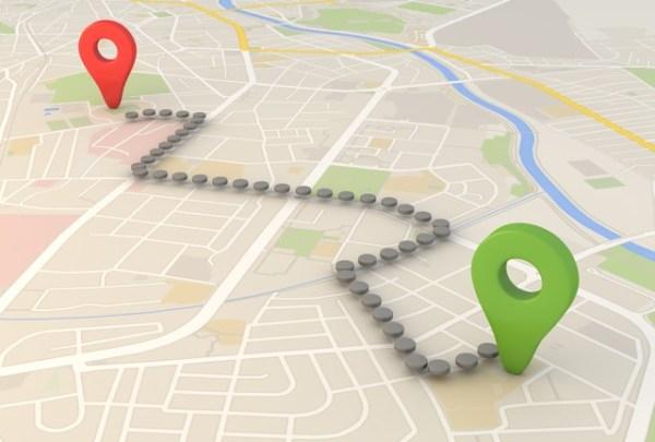 GPS Map (sumber dari makeuseof.com)