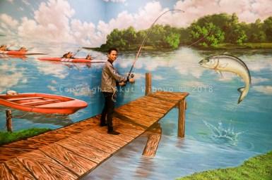 3D art memancing Rumah Imaji Lagoi Bay Bintan