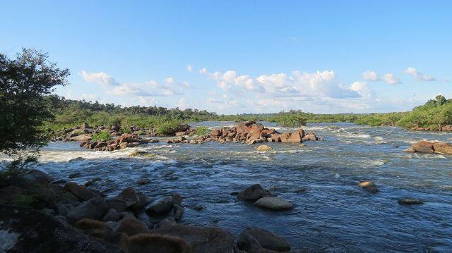 Rio Xingu i Brasil