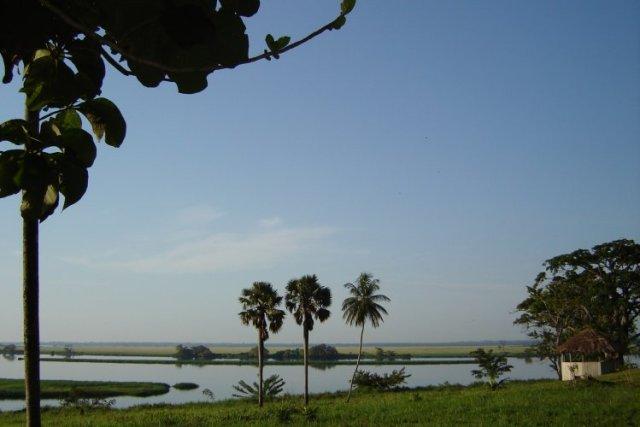 Mai-Ndombe-innsjøen.
