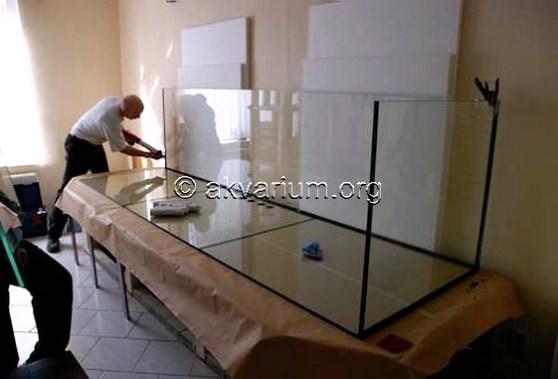 изготовление аквариума на заказ в Севастополе