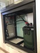 Подключаем систему перелива и фильтр