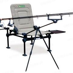 Tall Fishing Chair Covers In Target Korum Twin Rod Buzz Bar Akvasport