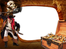 Pirates World  AKVIS Picture Frames