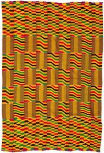 Ashanti Handwoven Kente Cloth