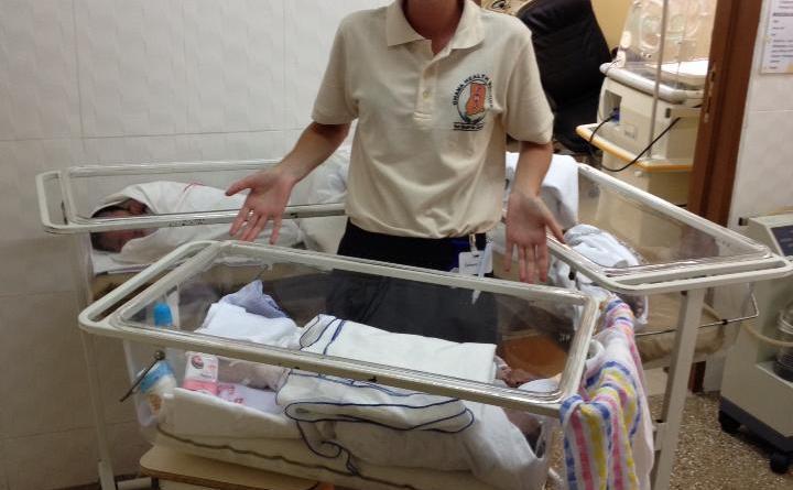 Akosombo Hospital December 2013 - Beretning fra frivillige