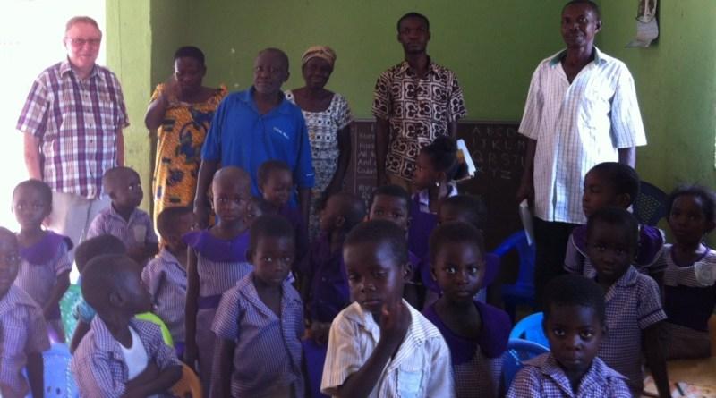Ayensu - midlertidig forskole indtil bygningen er færdig