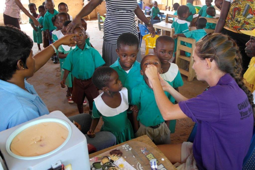 Beretning fra frivillige i Ghana 2013