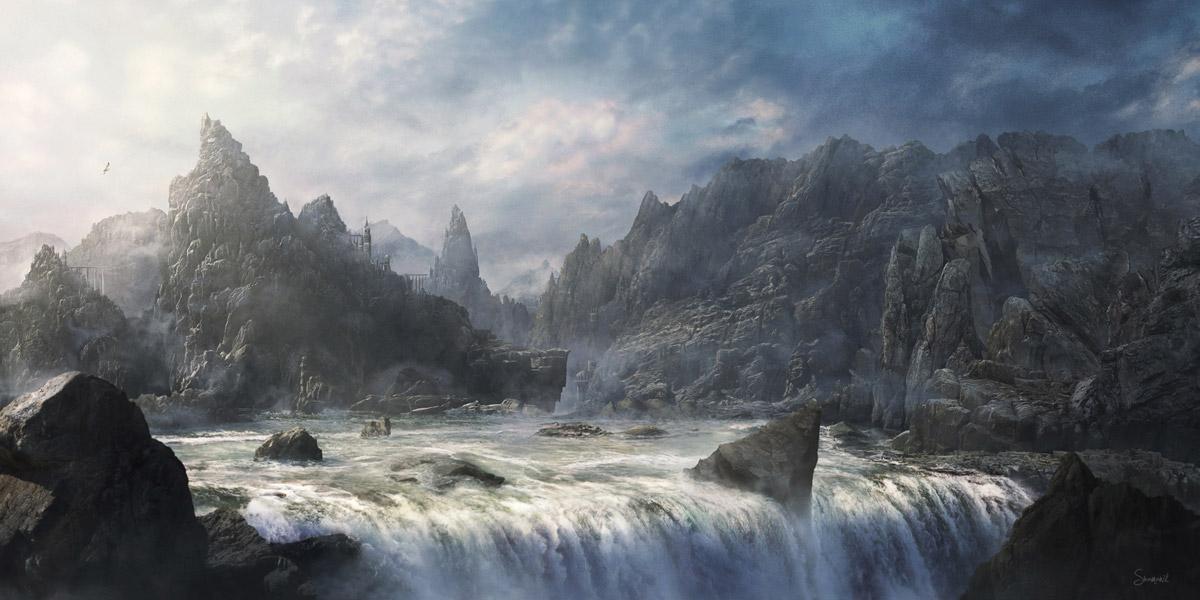 Magic Cliff by Shamanik7