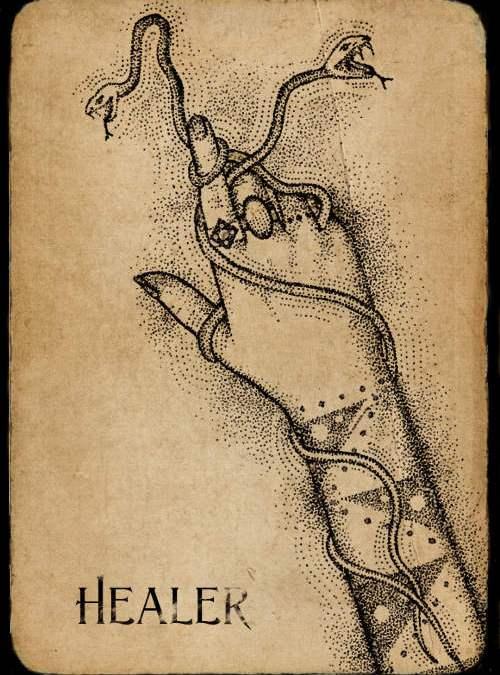 Healer Phantom Card - Art by Anna Campbell Art