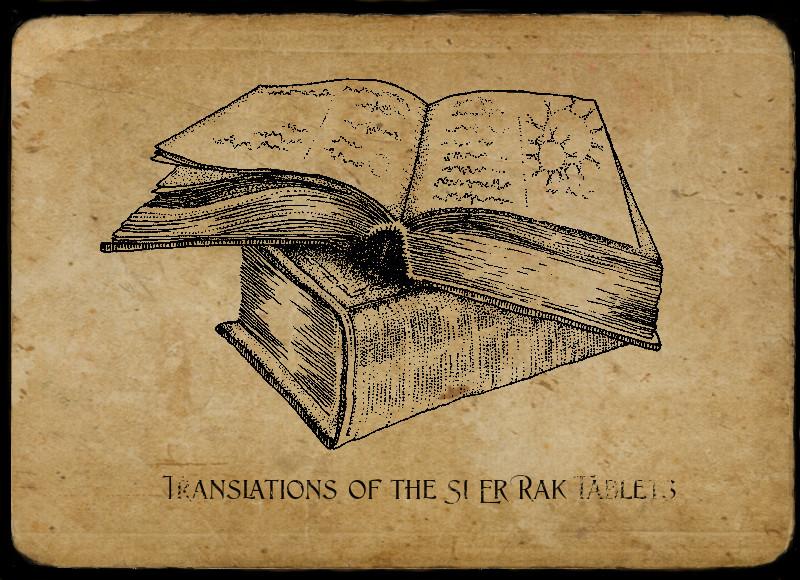 Ancient Si Er Rak Text image by Anna Campbell Art