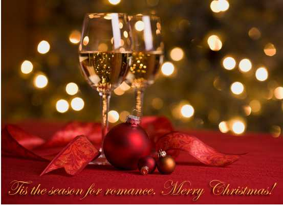 MyFunCards Romantic Christmas Send Free Holidays