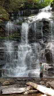Image of Waterfall at Ricketts Glen State Park
