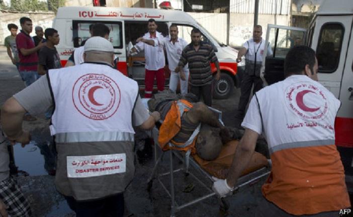 ارتفاع عدد قتلى الهجمات الإسرائيلية في غزة اليوم إلى 106