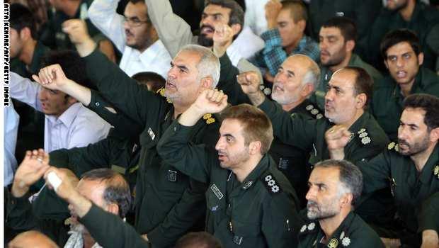 البسيج الايراني يدرب 700 عنصرا في مهمة خاصة