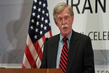 بولتون: لن نسمح لخامنئي بتدمير دول الشرق الأوسط