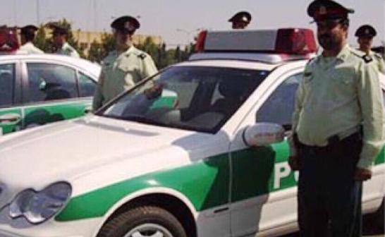 هجوم بلوشي على دورية شرطة ايرانية