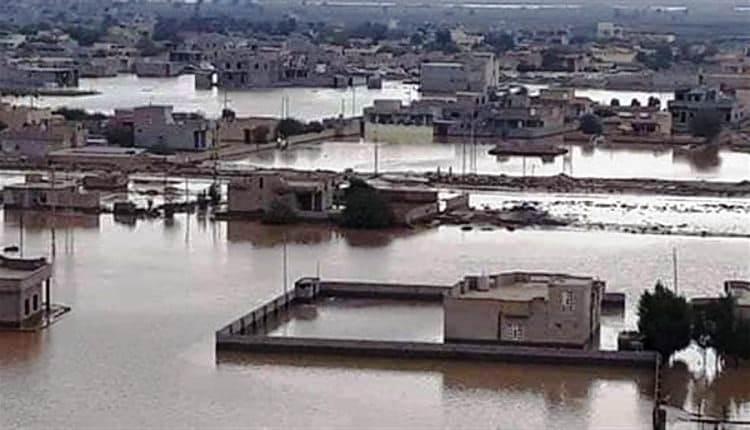 الفيضانات رقم 2 في الأحواز المحتلة - تاريخ حدوثها الاثنين  25-3-2019