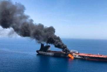 حركة التحرير الوطني الأحوازي تدين الهجوم الايراني على ناقلتي نفط في خليج عمان